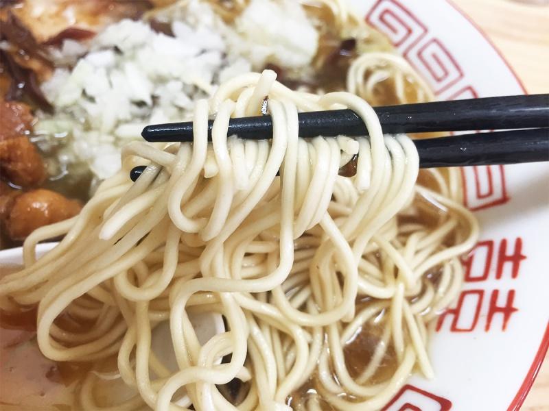 東仙台むらさわ中華そばの麺