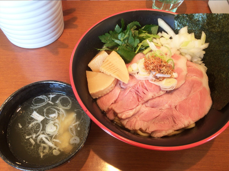 かいじ東仙台和田の和風煮干まぜそば