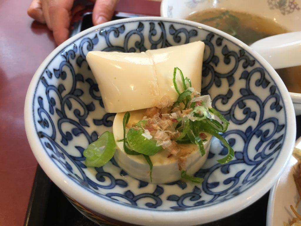 山形北京料理竜馬豆腐
